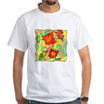 Autumn Wind Watercolor White T-Shirt