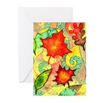 Autumn Wind Watercolor Greeting Cards (Pk of 10)