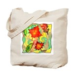 Autumn Wind Watercolor Tote Bag