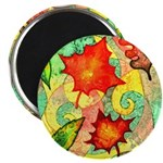 Autumn Wind Watercolor Magnet