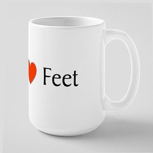 Feet Large Mug