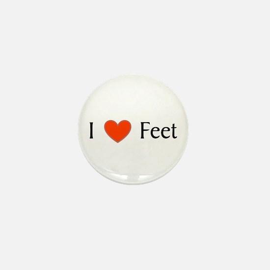 Feet Mini Button