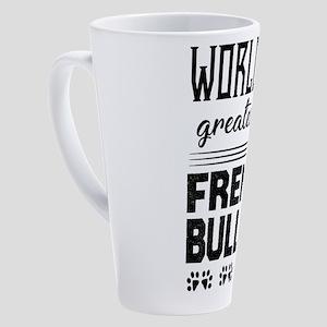 French Bulldog 17 oz Latte Mug