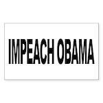 Impeach Obama (L) Rectangle Sticker 50 pk)