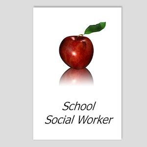 School Social Worker Postcards (Package of 8)