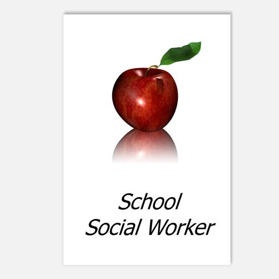 School Social Worker Postcards (Package of 8)