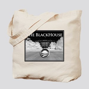 black house Tote Bag