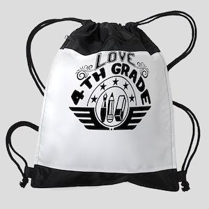 4th Grade Drawstring Bag