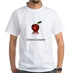 School Counselor White T-Shirt