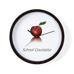 School Counselor Wall Clock