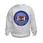 USS GUAM Kids Sweatshirt