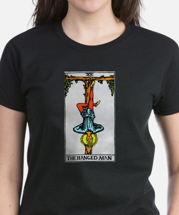 """The Hanged Man"" Women's Dark T-Shirt"
