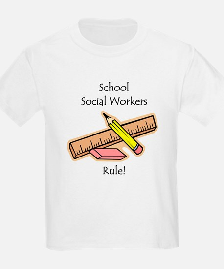 Social Workers Rule T-Shirt