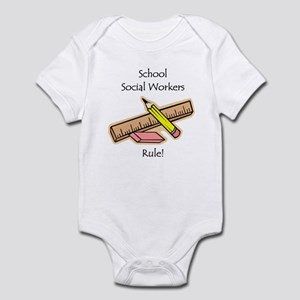 Social Workers Rule Infant Bodysuit
