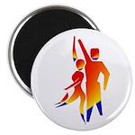 Latin Dancers #1 Magnet