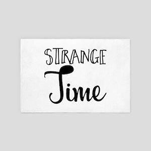 Strange Time 4' x 6' Rug
