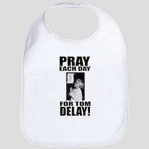 Pray For Delay Bib