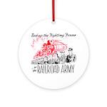 The Railroad Army Keepsake (Round)
