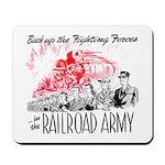 The Railroad Army Mousepad