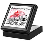The Railroad Army Keepsake Box