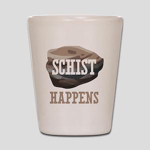 Geology Schist Happens Shot Glass