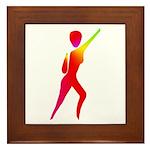 Jazz Dancer #1 Framed Tile