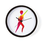 Jazz Dancer #1 Wall Clock