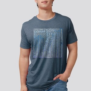 business infographic graph accounts stats T-Shirt