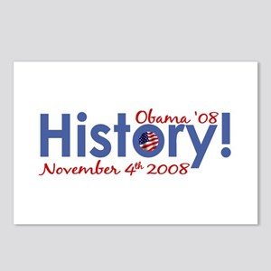 History Obama Wins '08 Postcards (Package of 8)