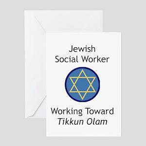 Jewish Social Worker Greeting Card