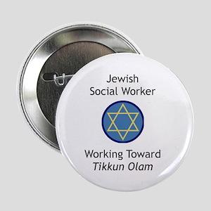 "Jewish Social Worker 2.25"" Button"