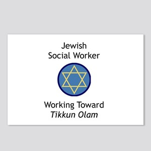 Jewish Social Worker Postcards (Package of 8)
