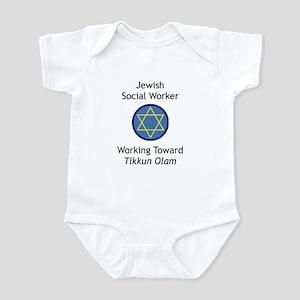 Jewish Social Worker Infant Bodysuit
