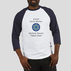 Jewish Social Worker Baseball Jersey