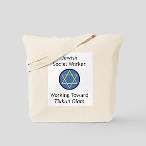 Jewish Social Worker Tote Bag