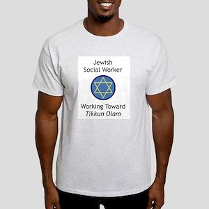 Jewish Social Worker Light T-Shirt