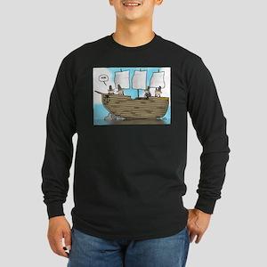Dude Long Sleeve Dark T-Shirt