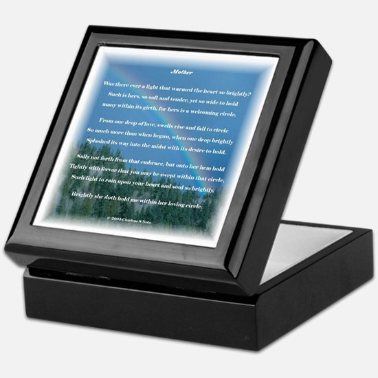 Mother Nature Photography Poetry Keepsake Box