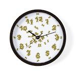Yellow Jacket Wall Clock