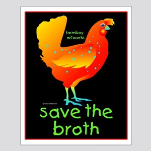 SAVE THE BROTH Small Poster