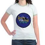 USS GUDGEON Jr. Ringer T-Shirt