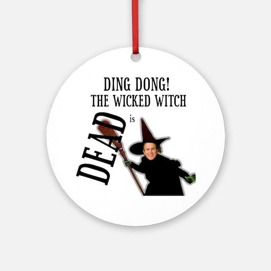 Bush witch Ornament (Round)