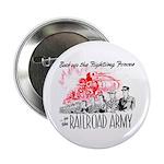 The Railroad Army Button