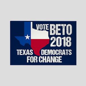 Vote Beto 2018 Texas Rectangle Magnet