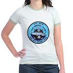 USS GUIDE Jr. Ringer T-Shirt