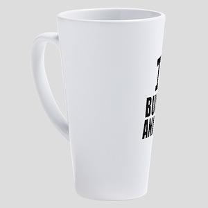 I Love Business Analytics 17 oz Latte Mug