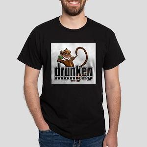 Drunken Monkey Ash Grey T-Shirt