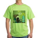 T-Rex at the Dentist Green T-Shirt