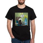 T-Rex at the Dentist Dark T-Shirt