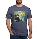 T-Rex at the Dentist Mens Tri-blend T-Shirt